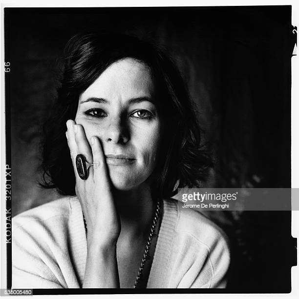Portrait of American actress Parker Posey 1990s or 2000s