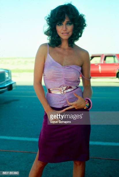 Portrait of American actress Sally Field poses in costume during the filming of 'Back Roads' Los Angeles California 1980