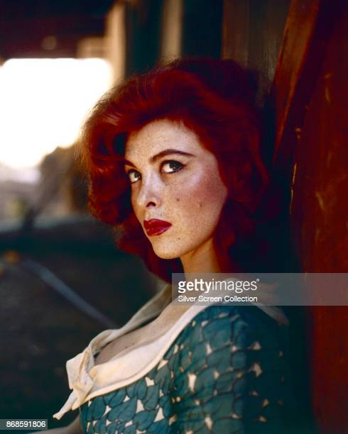 Portrait of American actress Tina Louise 1960s