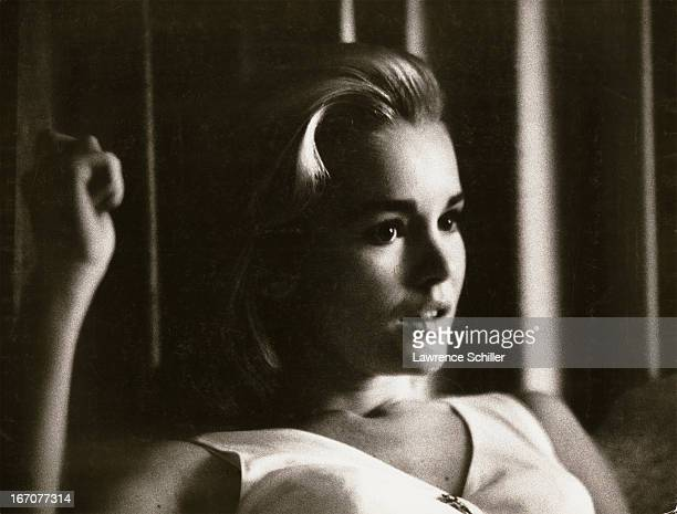Portrait of American actress Tuesday Weld Los Angeles California 1963