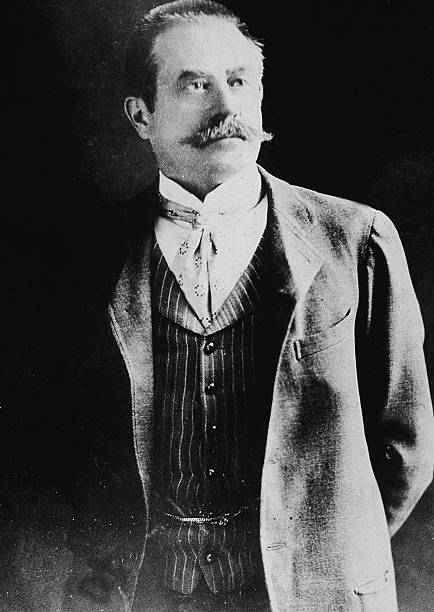 Portrait of American architect Stanford White , as...