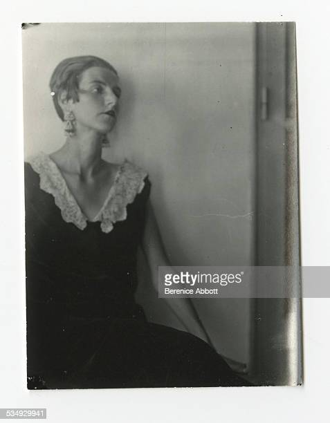 Portrait of American art collector and socialite Peggy Guggenheim 1926