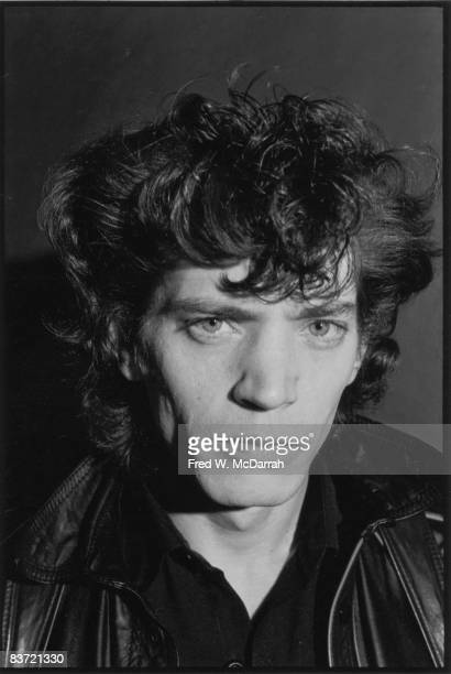 Portrait of American artist and photographer Robert Mapplethorpe in his studio New York New York December 22 1979