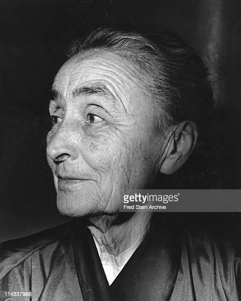 Portrait of American artist Georgia O'Keeffe 1962