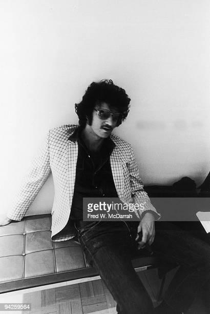 Portrait of American artist Larry Bell New York New York April 9 1971