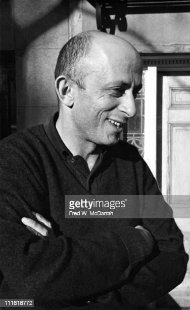 Portrait of American artist Leon Golub New York New York October 30 1964