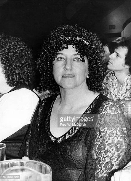 Portrait of American artist playwright and author Rosalyn Drexler as she attends the Obie Award ceremony New York New York May 21 1979 She received...