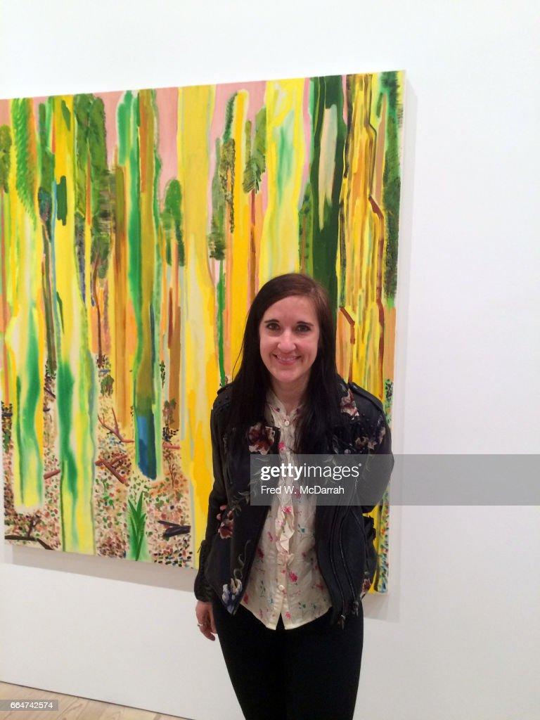 Shara Hughes At Whitney Biennial : News Photo