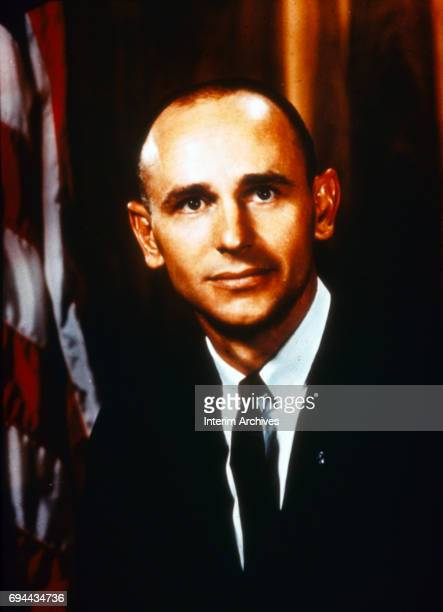 Portrait of American astronaut Alan Bean Florida 1960s