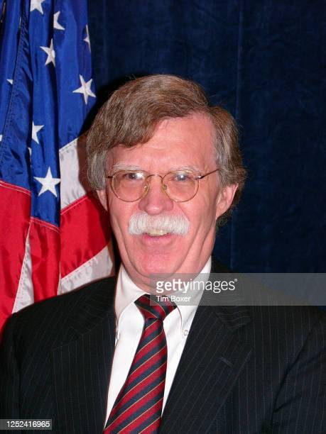 Portrait of American attorney and US Ambassador to the United Nations John Bolton during the Appeal of Conscience Foundation's 40th anniversary...