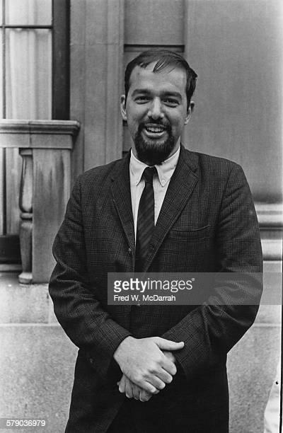 Portrait of American author and critic Richard Kostelanetz New York New York May 24 1967