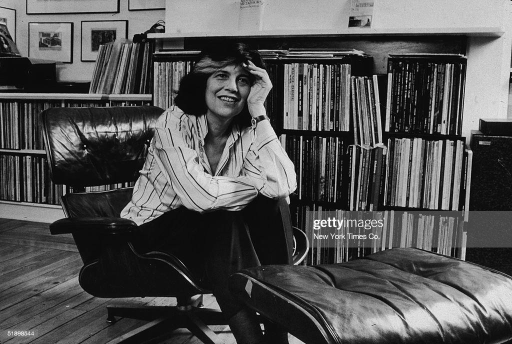 Portrait Of Author Susan Sontag : News Photo