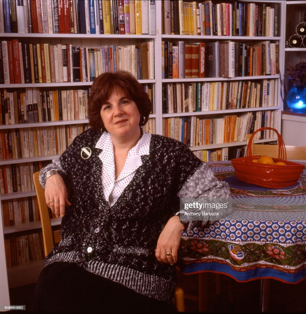 Portrait of American author and literary critic Elaine Showalter, New York, 1988.