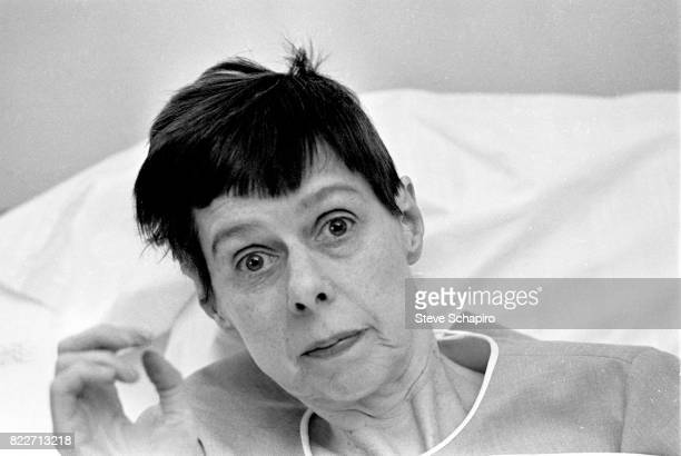Portrait of American author Carson McCullers New York 1967