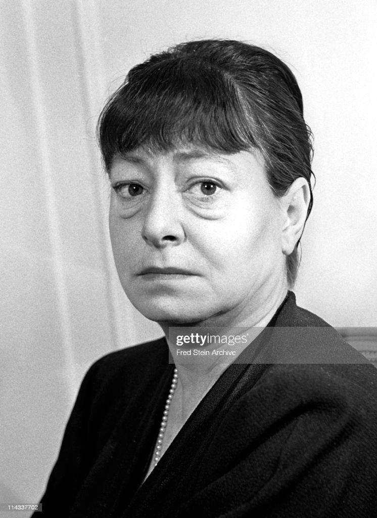 Portrait Of Dorothy Parker : News Photo