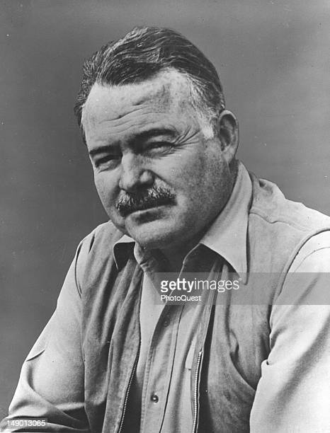 Author Ernest Hemingway New 5x7 Photo American Novelist and Journalist