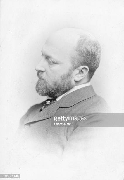 Portrait of American author Henry James late nineteenth century