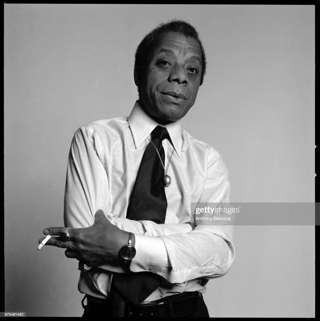 Portrait Of James Baldwin : News Photo