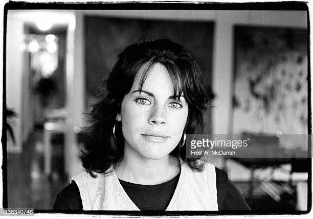 Portrait of American author Jan Kerouac September 19 1978 Kerouac was the only child of Beat Generation author Jack Kerouac with his second wife Joan...