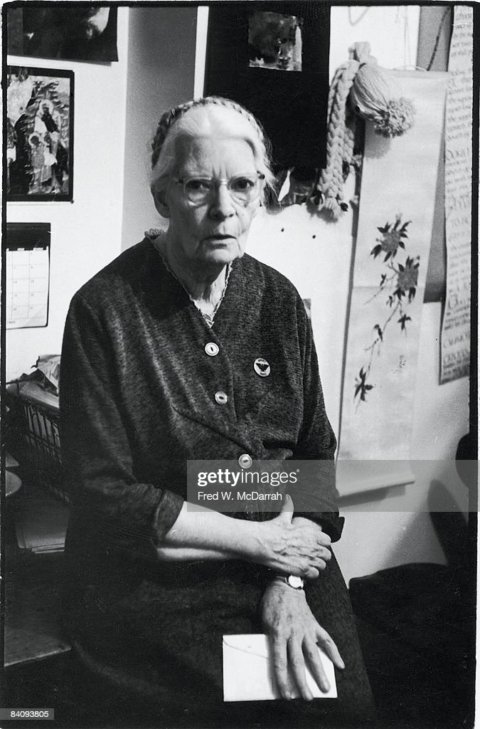Portrait Of Dorothy Day : News Photo