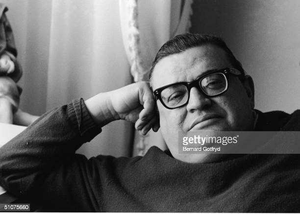 Portrait of American author Mario Puzo in the year his bestselling third novel 'The Godfather' was published New York New York 1969