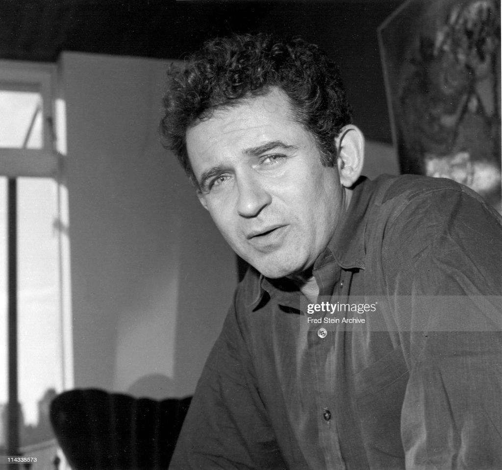 Portrait Of Norman Mailer : Nachrichtenfoto