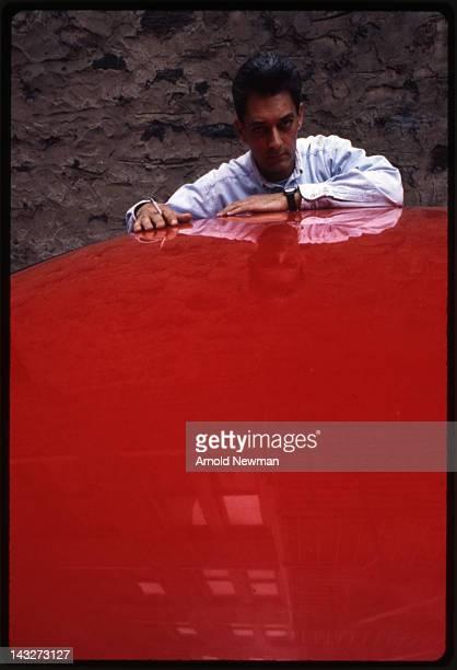 Portrait of American author Paul Auster Brooklyn New York June 7 1993