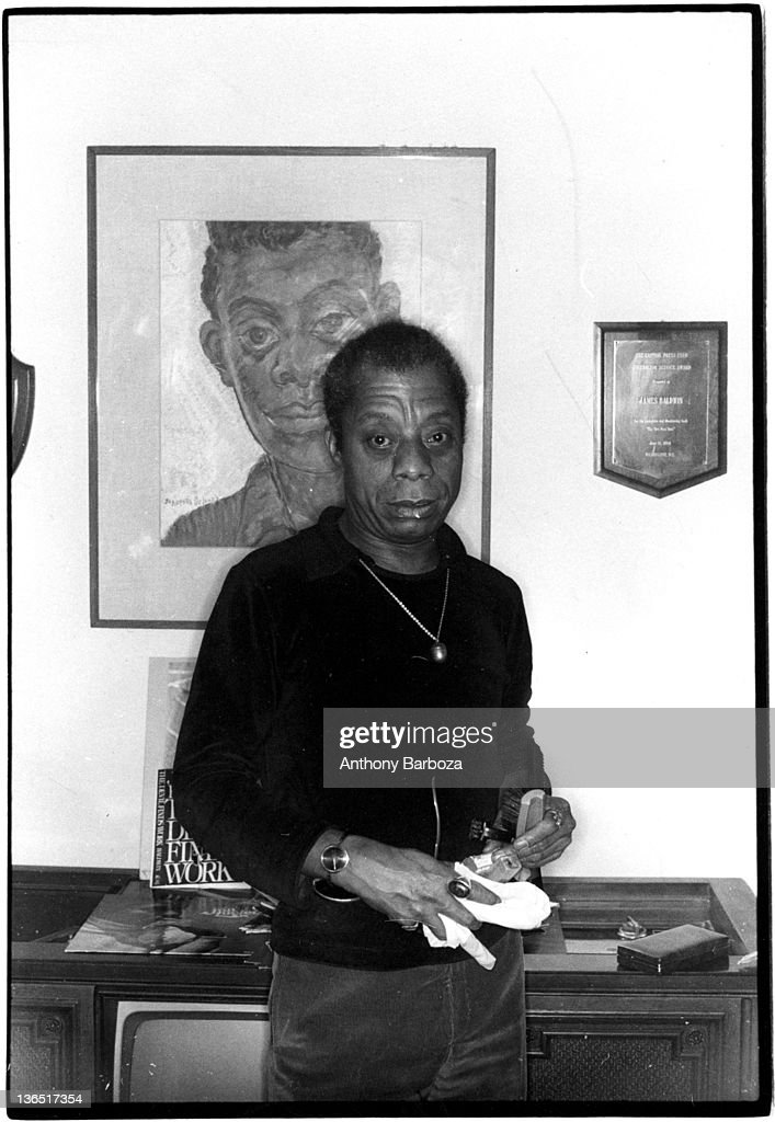 Portrait Of James Bbaldwin : News Photo