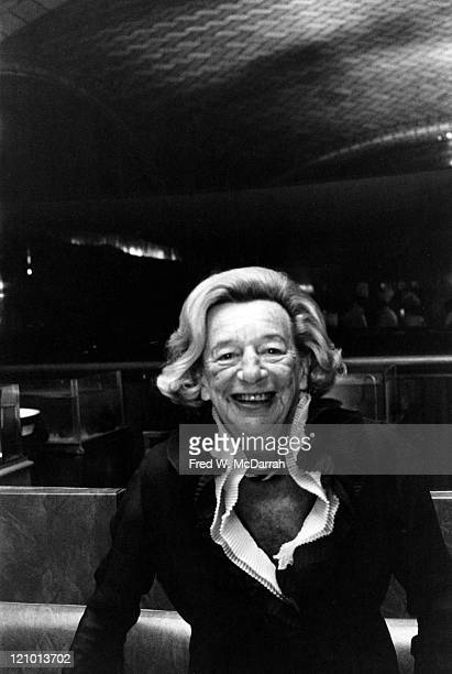 Portrait of American author playwright and screenwriter Lillian Hellman October 23 1975