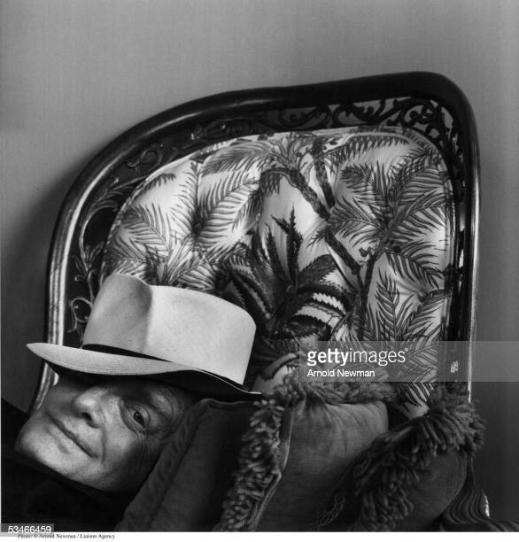 Premium Rates Apply. Minimum rate $500 USD. 378853 02: Portrait of American author Truman Capote June 28, 1977 in New York City. Capote is best known for such novels as 'In Cold Blood' and 'Breakfast at Tiffany's.'