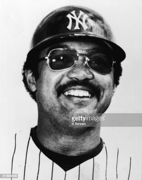 Portrait of American baseball player Reggie Jackson outfielder for the New York Yankees New York New York circa 1981