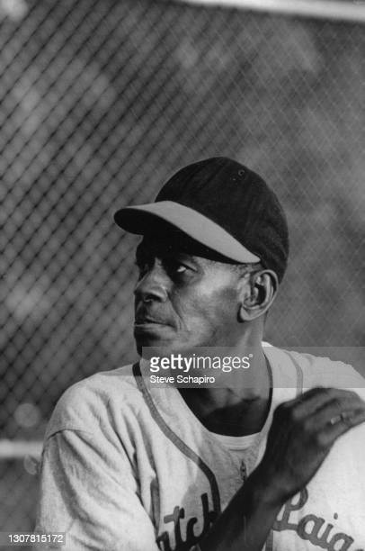 Portrait of American baseball player Satchel Paige , Kansas, 1964.