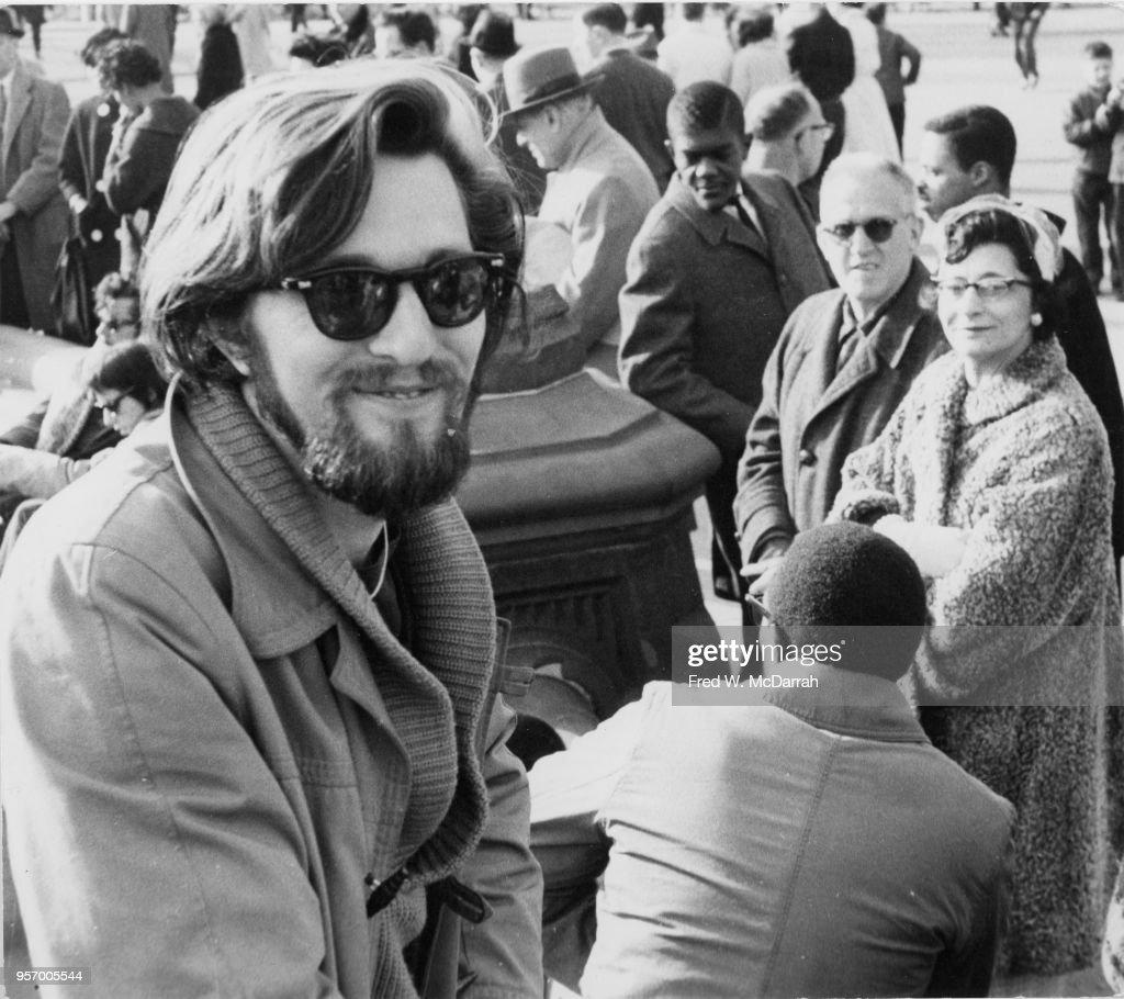 Ronald Von Ehmsen In Washington Square Park : News Photo