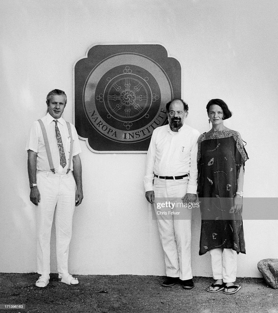 Orlovsky, Ginsberg, And Waldman At Naropa : News Photo