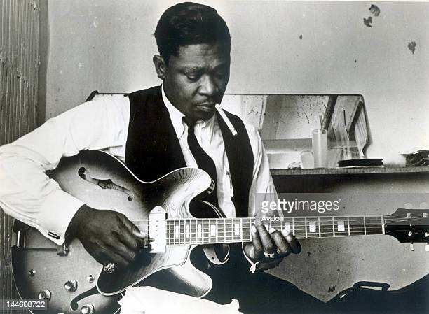 Portrait of American blues guitarist and singersongwriter BB King photographed in the 1960's Job 66781 Ref SSE Exclusive UK Rights Only
