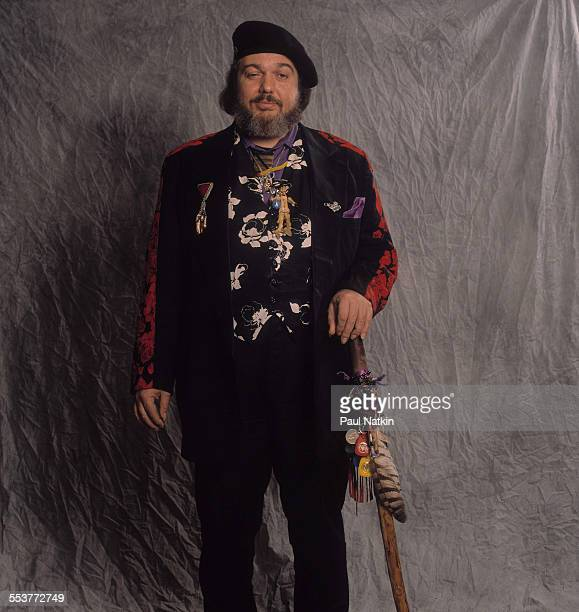 Portrait of American Blues musician Dr John as he poses at the Aire Crown Theater, Chicago, Illinois, October 12, 1990.