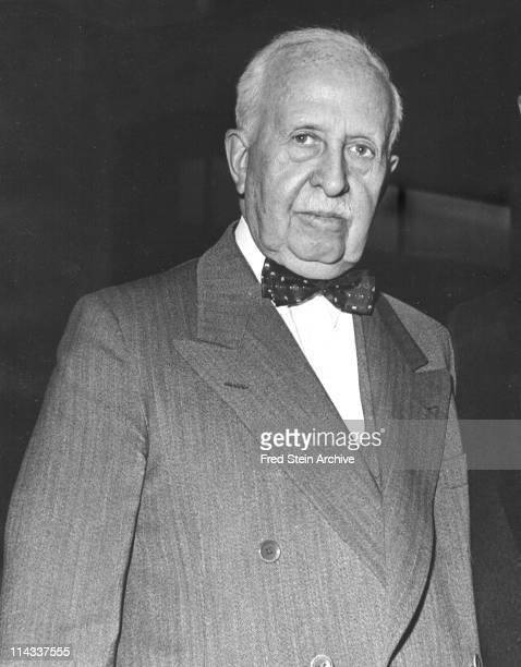 Portrait of American businessman James Cash Penny founder of the JC Penny Stores twentieth century