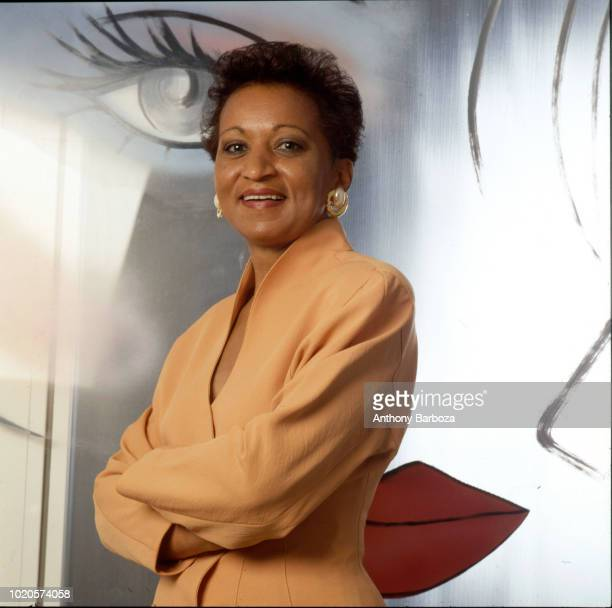 Portrait of American businesswoman Girls Inc President and CEO Joyce Roche 1990
