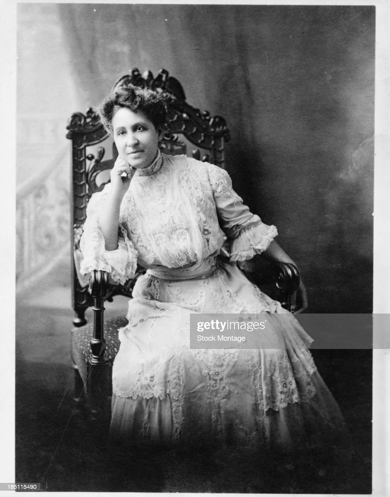 Portrait Of Mary Church Terrell : News Photo