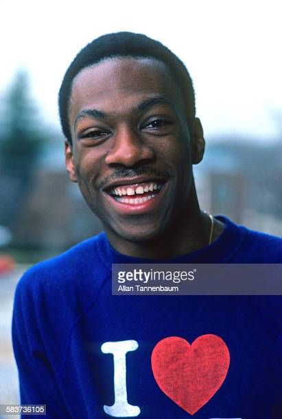 Portrait of American comedian and actor Eddie Murphy at his mother's house Hempstead Long Island New York January 15 1982