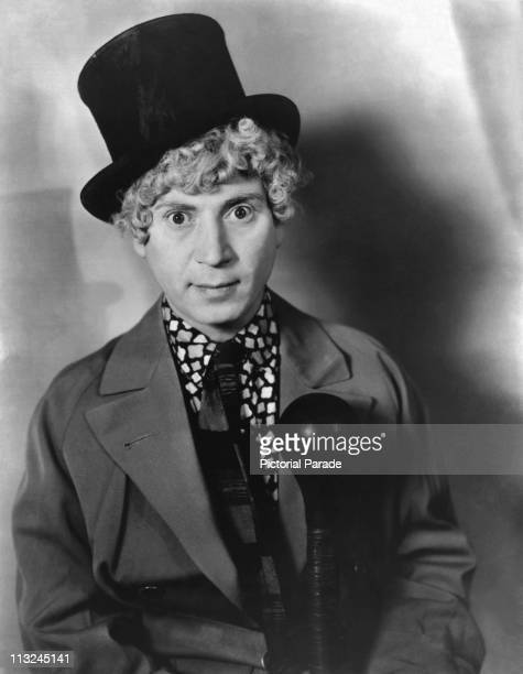 Portrait of American comedian and actor Harpo Marx in the 1930's