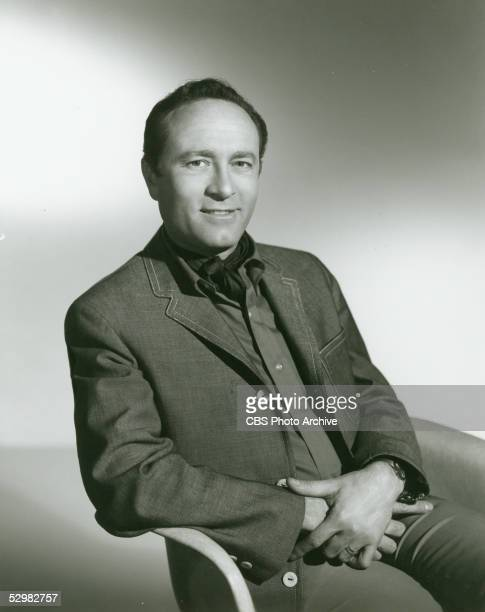 Portrait of American comic actor director and voice artist Howard Morris February 12 1964 Morris was best known for playing Ernest T Bass on 'The...