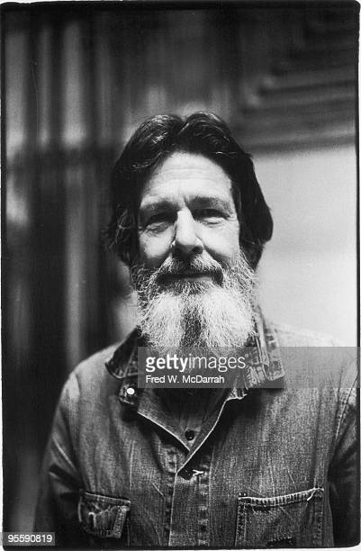 Portrait of American composer John Cage March 22 1973