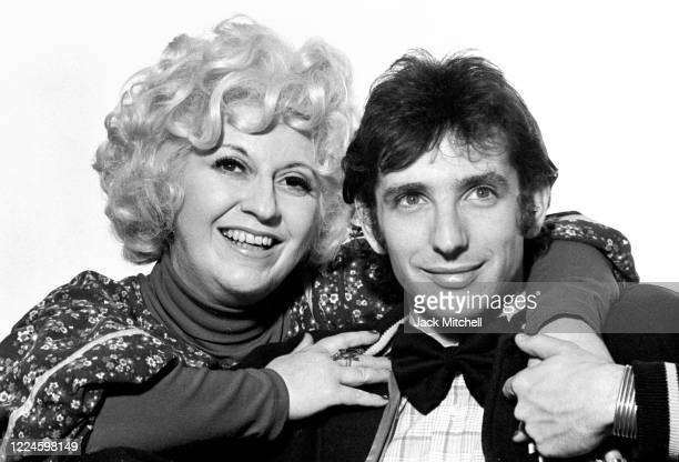 Portrait of American composers, Mezzo-Soprano Cathy Berberian and conductor & musician Michael Tilson Thomas as they pose together prior to a joint...