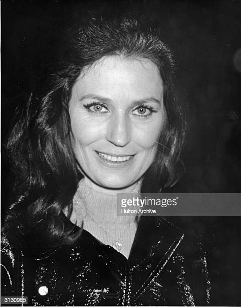 Portrait of American country music singer and guitarist Loretta Lynn 1980s