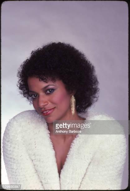 Portrait of American dancer and choreographer Debbie Allen 1990s