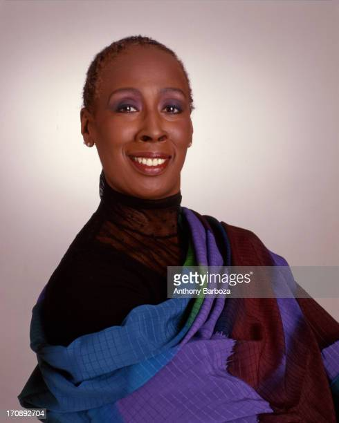 Portrait of American dancer and choreographer Judith Jamison artistic director for the Alvin Ailey American Dance Theater New York New York 1997