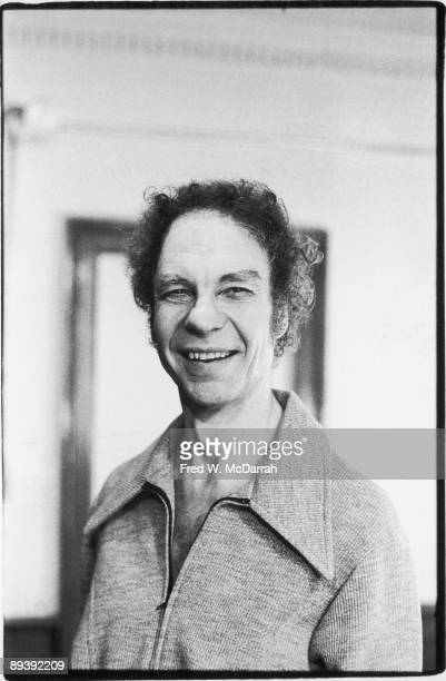 Portrait of American dancer and choreographer Merce Cunningham March 22 1973