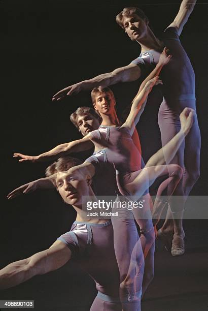 Portrait of American dancer with American Ballet Theatre Ethan Stiefel 1994