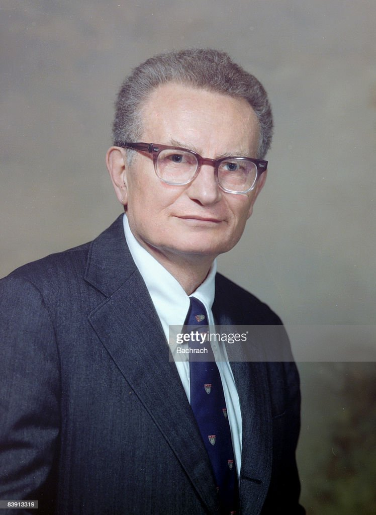 Portrait of Economist Paul Samuelson : ニュース写真